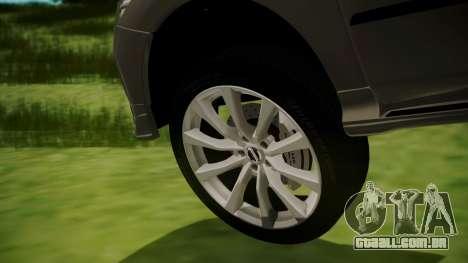 Nissan Patrol IMPUL 2014 para GTA San Andreas traseira esquerda vista
