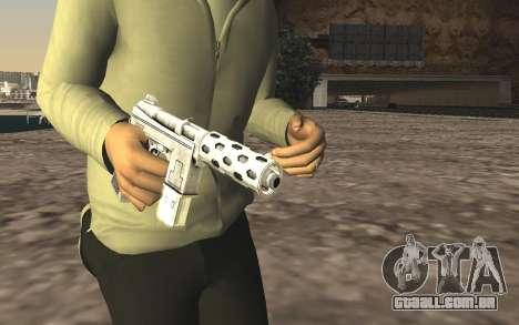 GTA 5 Tec-9 para GTA San Andreas terceira tela