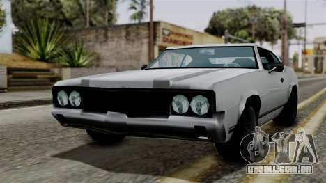 Sabre Turbo from Vice City Stories para GTA San Andreas traseira esquerda vista