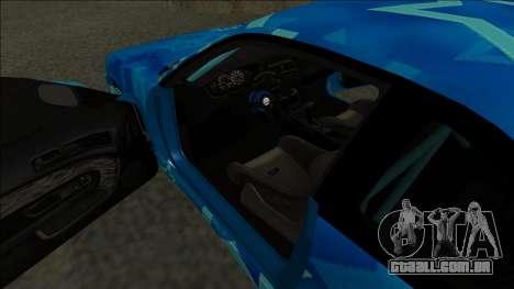 Nissan Silvia S14 Drift Blue Star para GTA San Andreas vista direita