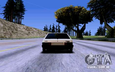 VAZ 2109 Turbo para as rodas de GTA San Andreas