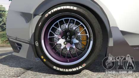 GTA 5 Nissan GT-R (R35) [RocketBunny] vista lateral direita