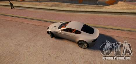 Aston Martin DB9 Vice City Deluxe para GTA 4 esquerda vista