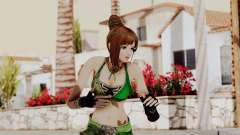 Dynasty Warriors 8 - Bao Sannian Green Costume