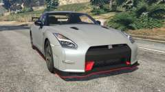 Nissan GT-R Nismo 2015 v1.1 para GTA 5