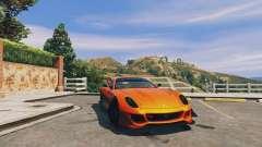 Ferrari 599XX Super Sports Car