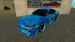Nissan Silvia S15 Drift Blue Star