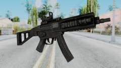 MP5 from RE6 para GTA San Andreas