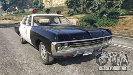 Dodge Polara 1971 Police v4.0 para GTA 5