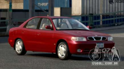 Daewoo Nubira I Sedan SX USA 1999 para GTA 4