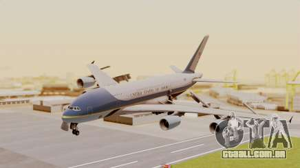 Airbus A380 Air Force One para GTA San Andreas
