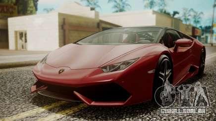 Lamborghini Huracan LP-610 VELLANO para GTA San Andreas