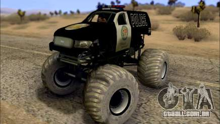 The Police Monster Trucks para GTA San Andreas