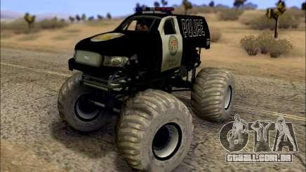 The Police Monster Trucks para GTA San Andreas