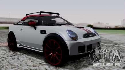 Mini Cooper S Weeny Issi para GTA San Andreas