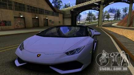 Lamborghini Huracan LP610 VELLANO para GTA San Andreas