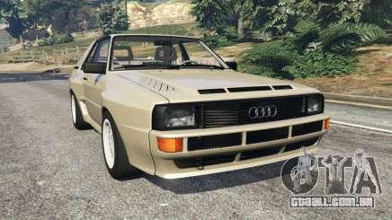Audi Sport quattro v1.4 para GTA 5