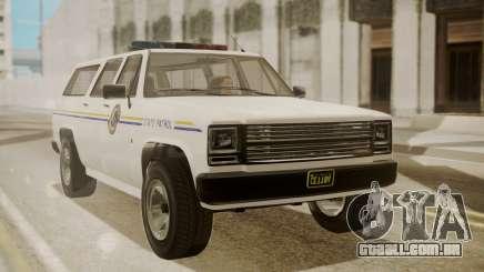 GTA 5 Declasse Rancher XL Police IVF para GTA San Andreas