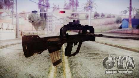 Famas G2 para GTA San Andreas segunda tela