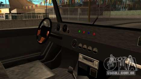New Mesa Wild para GTA San Andreas vista direita