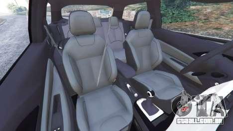 GTA 5 Citroen DS3 2011 vista lateral direita