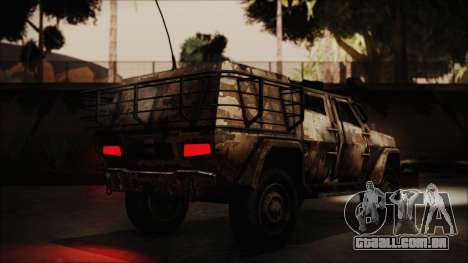 Joint Light Tactical Vehicle para GTA San Andreas esquerda vista