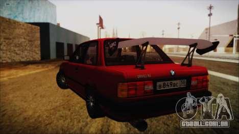 BMW M3 E30 Coupe Drift para GTA San Andreas esquerda vista