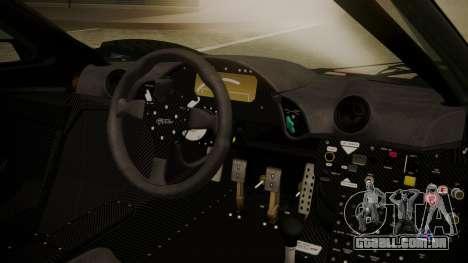McLaren F1 GTR 1998 Day Off para GTA San Andreas vista direita