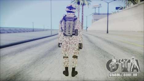 Bundeswehr Desert v1 para GTA San Andreas terceira tela