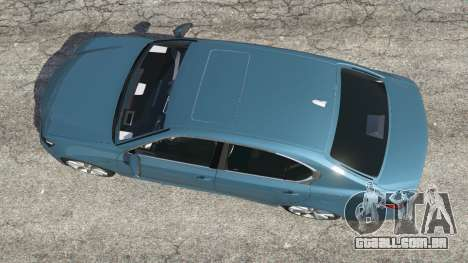 GTA 5 Lexus GS 350 F-Sport 2013 voltar vista