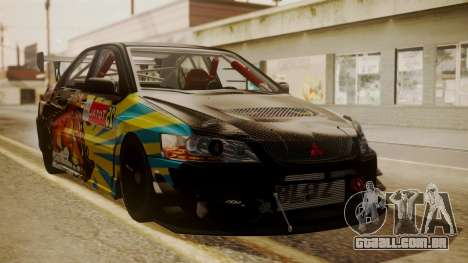 Mitsubishi Lancer Evolution Pushkar para GTA San Andreas
