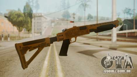 GTA 5 Pump Shotgun para GTA San Andreas segunda tela
