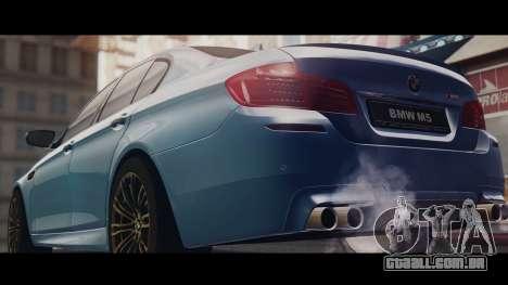 BMW M5 F10 Stock MTA Version para GTA San Andreas esquerda vista