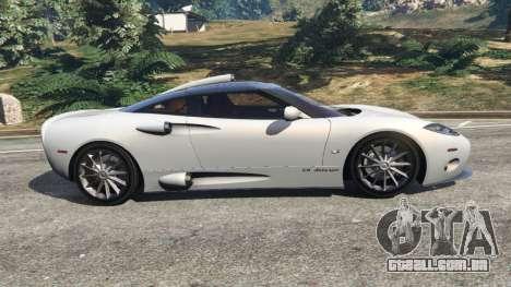 Spyker C8 Aileron para GTA 5