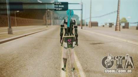 Jinxed Akali para GTA San Andreas terceira tela
