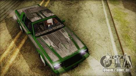 GTA 5 Faction LowRider DLC para GTA San Andreas vista direita