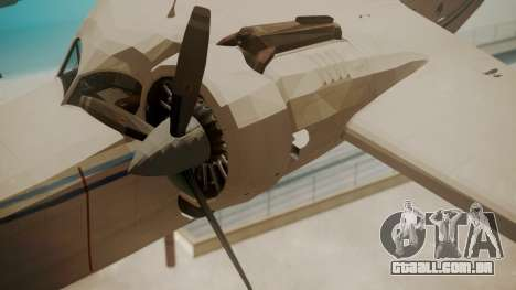 Grumman G-21 Goose WhiteBlueLines para GTA San Andreas vista direita