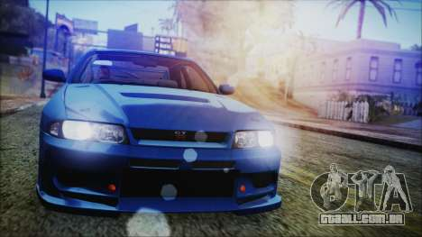 Nissan Skyline R33 Kantai Collection Kongou PJ para GTA San Andreas