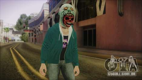 DLC Halloween GTA 5 Skin 1 para GTA San Andreas