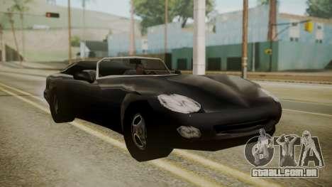 Banshee III para GTA San Andreas traseira esquerda vista