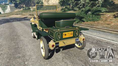 Ford Model T [one color] para GTA 5