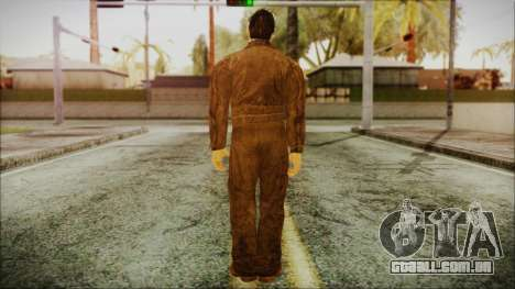 Michael Myers Movie Halloween para GTA San Andreas terceira tela