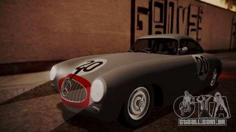 Mercedes-Benz 300 SL (W194) 1952 HQLM para GTA San Andreas vista superior