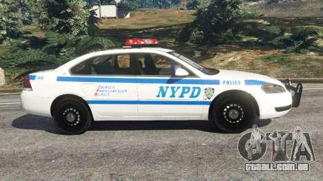 Chevrolet Impala NYPD para GTA 5