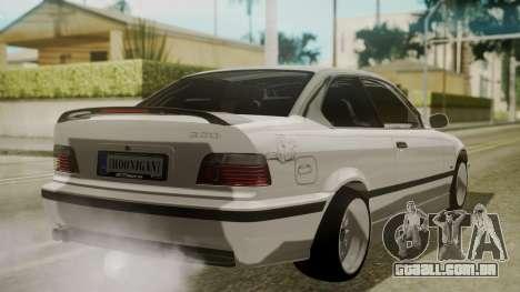 BMW M3 E36 para GTA San Andreas esquerda vista