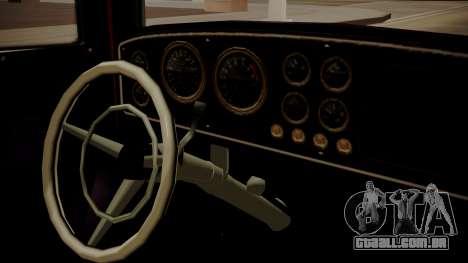 GTA 5 Albany Franken Stange para GTA San Andreas vista direita