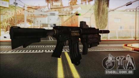 M4 SpecOps para GTA San Andreas segunda tela