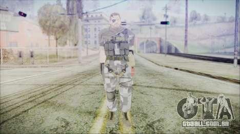 MGSV Phantom Pain Snake Scarf Square para GTA San Andreas segunda tela