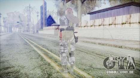 MGSV Phantom Pain Snake Scarf Square para GTA San Andreas terceira tela