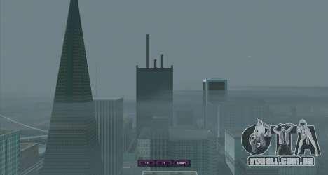 SampGUI Violet para GTA San Andreas terceira tela